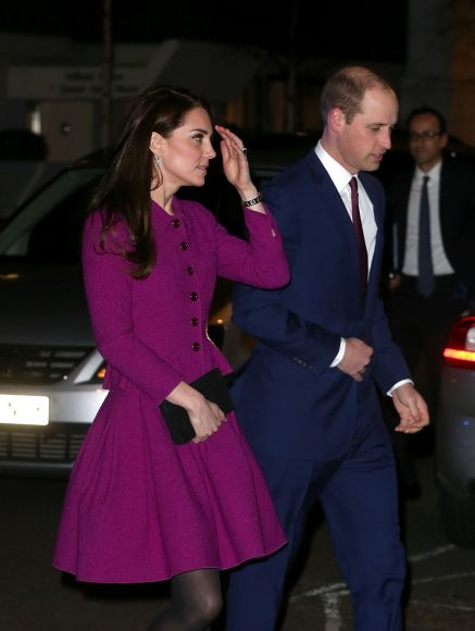 LONDON, ENGLAND - FEBRUARY 06:  Catherine, Duchess of Cambridge and  Prince William, Duke of Cambridge attends the Guild of Health Writers conference on February 6, 2017 in London, England.  (Photo by Danny Martindale/WireImage)