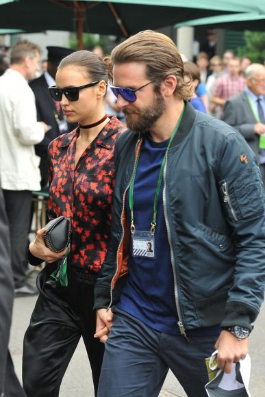 8 Jul 2016 - London - UK Bradley Cooper & Irina Shayk seen arriving for The Championships at Wimbledon. BYLINE MUST READ : XPOSUREPHOTOS.COM ***UK CLIENTS - PICTURES CONTAINING CHILDREN PLEASE PIXELATE FACE PRIOR TO PUBLICATION *** **UK CLIENTS MUST CALL PRIOR TO TV OR ONLINE USAGE PLEASE TELEPHONE 44 208 344 2007 **